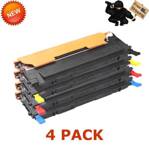 5PK CLT-407S Set Toner For SAMSUNG CLX-3180 CLX-3185FW CLX-3185N CLX-3186