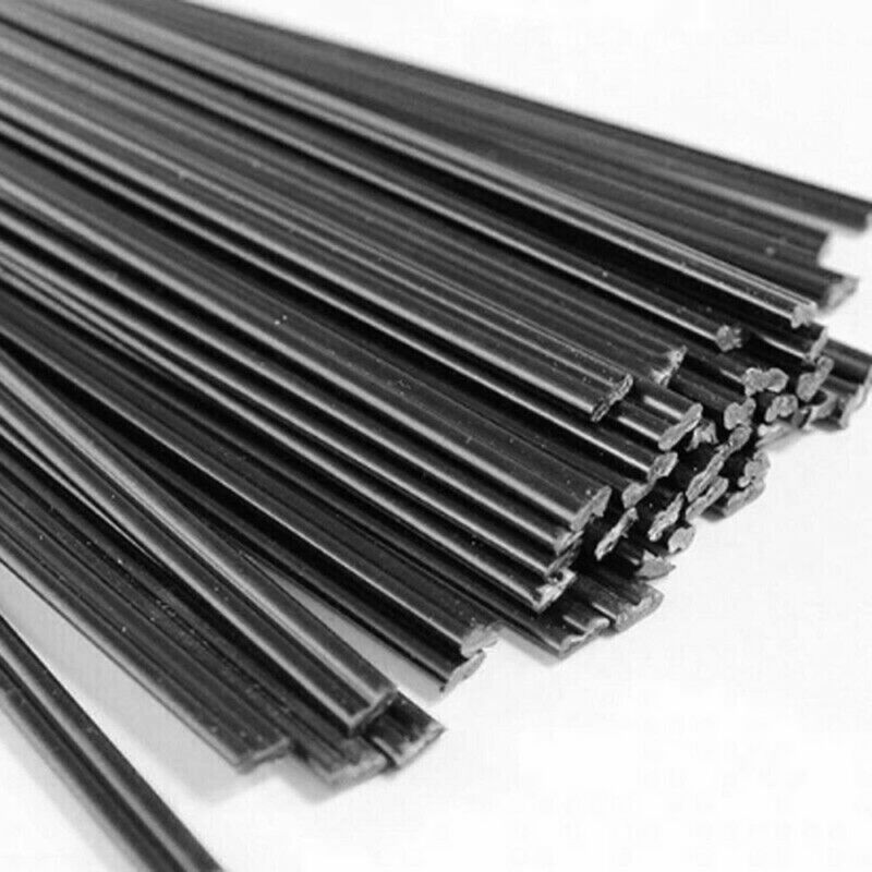 50pcs Plastic Welder Hot Gun Soldering Welding Rods Bumper Repair Car Tool Kit