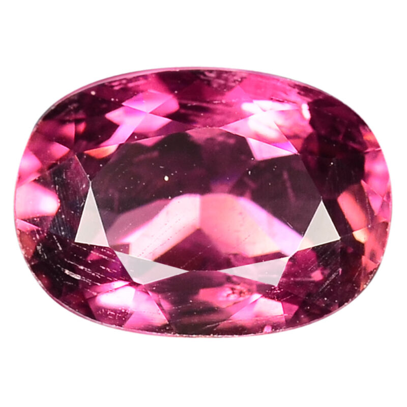 1.67 Ct. Oval Facet Cut Pink Tourmaline Gems WITH GLC CERTIFY