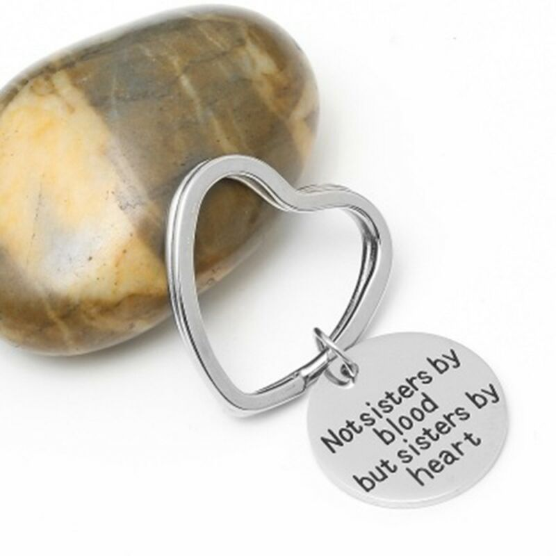 Luggage Keyrings & Keychains Blood Type A Negative Sterling Silver Engraved Keyring