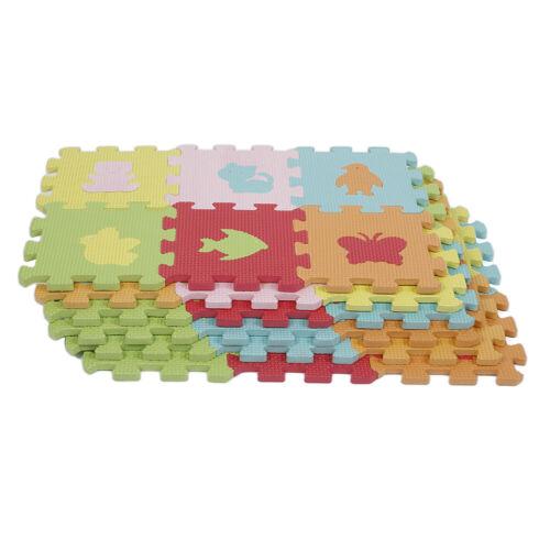 36tlg. Puzzlematte Spielmatte EVA Bodenmatte Puzzleteppich Lernmatte Baby Kinder
