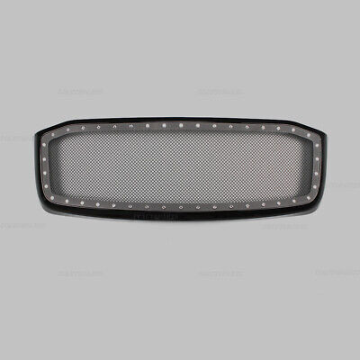 Front Bumper Mesh Grill Grille Glossy Black Fits Dodge Ram 2500/3500 2007-2009