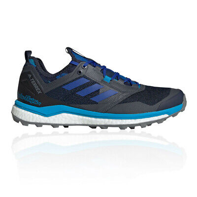 adidas Mens Terrex Agravic XT TLD Trail Running Shoes Trainers Sneakers Blue