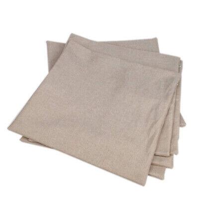 100pcs Heat Press Pillow Case Transfer Sublimation Blank Cushion Cover 16 X 16