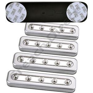 Battery Led Push Lights Ebay