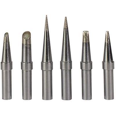 6 Pcsset Replacement Et Soldering Iron Tips Weller We1010na Lr21 Series