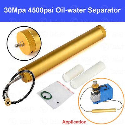 30mpa High Pressure Air Filter 4500psi Water-oil Separator Pcp Compressor Diving
