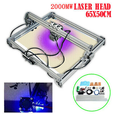 65x50cm Diy Desktop Laser Engraving Engraver Machine Cnc Carver Printer 2000mw