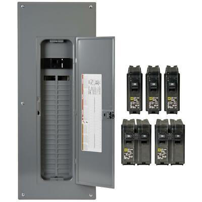 200 Amp 40-space 80-circuit Indoor Main Breaker Panel Box With Cover Electrical