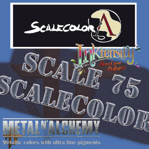 Scale 75 ScaleColor Paint All Colors Free Shipping $35+