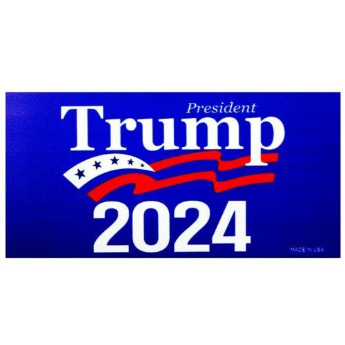 "President Trump 2024 4"" x 7"" Car Fridge Magnet Made In USA"