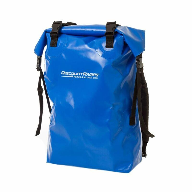 Blue 50 Liter Waterproof Dry Bag Backpack