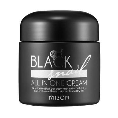 Mizon Black Snail All in One Cream 75ml / Free Gift / Korean Cosmetics