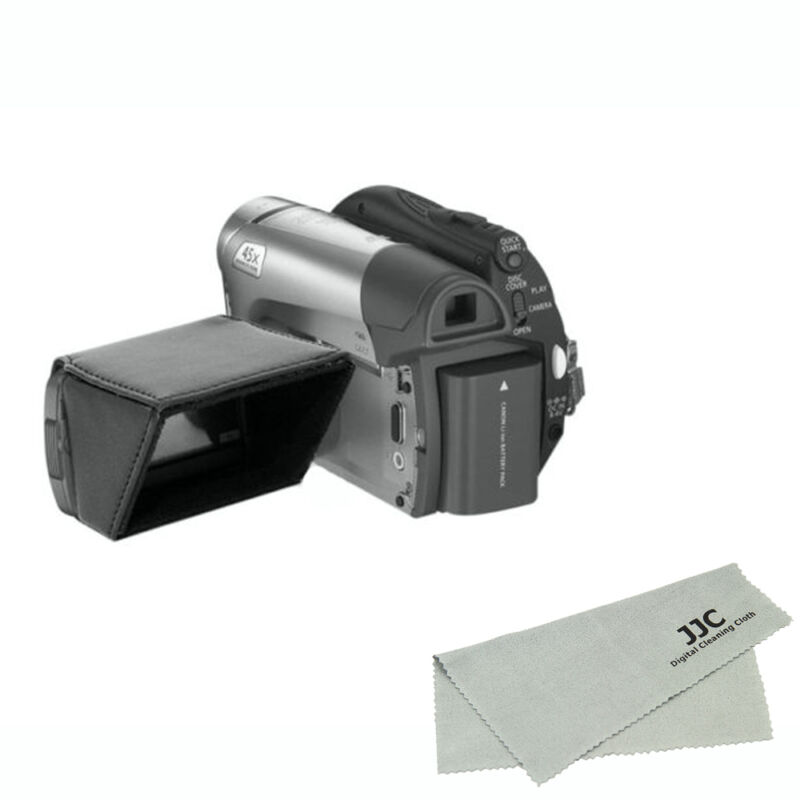 """JJC LCD Hood for Canon Nikon Sony Camera / Camcorder with 3.0"""" Fold Out Screen"""