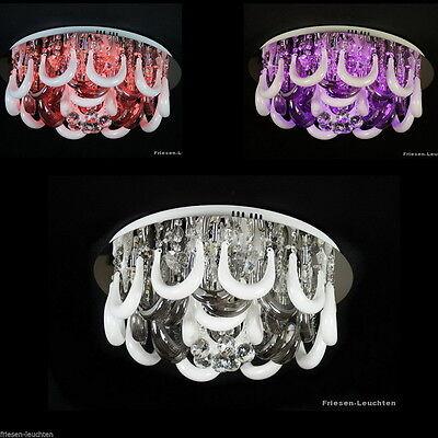 LED Deckenleuchte,Leuchte,Kronleuchter,3/6/9-flg.,Fernbedienung,mit Farbwechsel