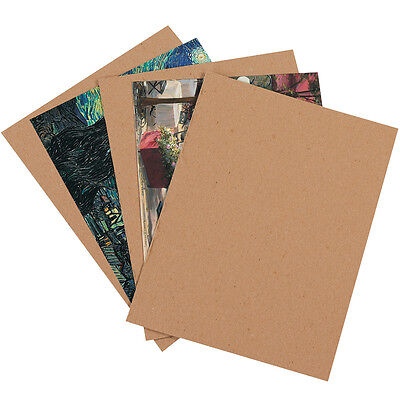 Box Partners Chipboard Pads 9 X 12 Kraft 825case Cp912