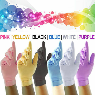 Nitrile Disposable Strong Gloves (Powder Free Latex Free) Multipurpose