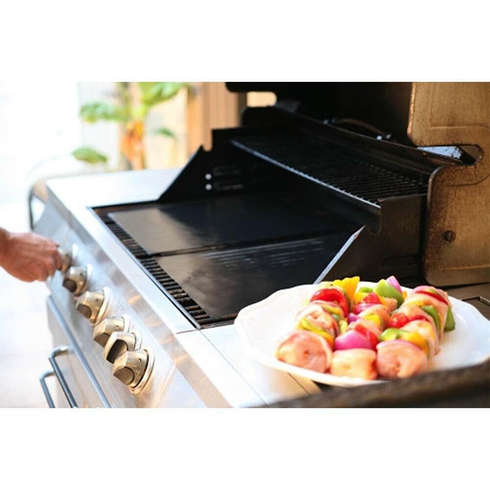 Hyfive BBQ Grill MatSheet Resistant & Non Stick Black