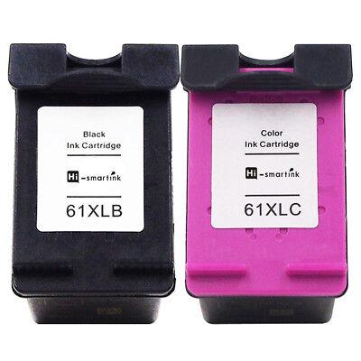 2Pack 61XL Ink Cartridges For HP Deskjet 2540 2542 2514 2540 3056A 3050A Printer