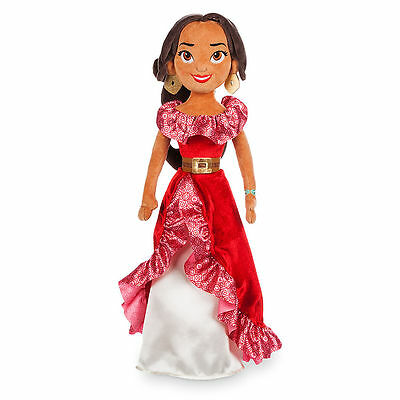 Disney Store Authentic Elena Of Avalor Plush Toy Doll 20  Nwt
