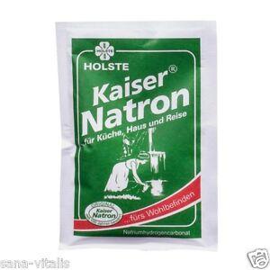 HOLSTE Original Kaiser Natron 50g Btl. für Küche, Haus und Reise ...Wohlbefinden