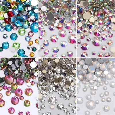 Mixed Size Rhinestones Jewelry Nail Art Decoration Glitter Gems Manicure Salon - Salon Decorations