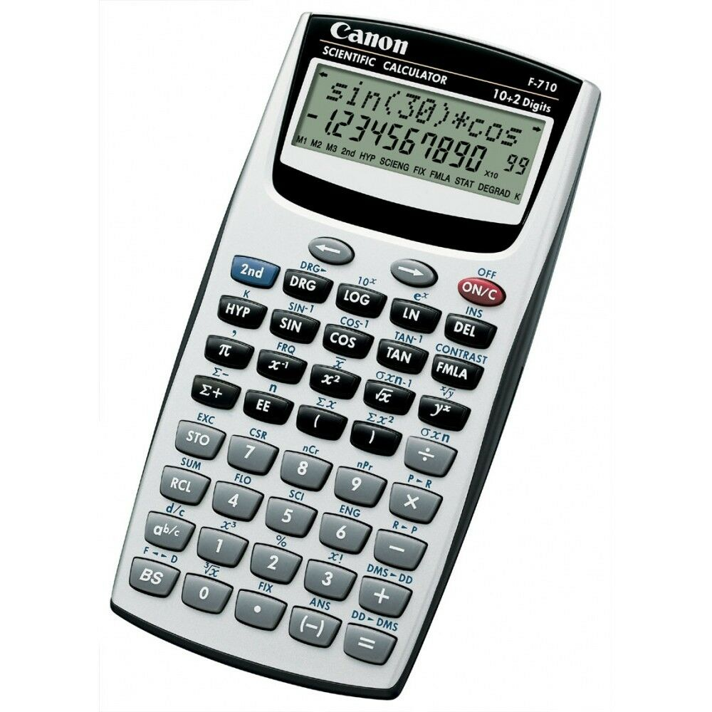 scientific calculator CANON F-710 139 Functions WARRANTY ITALY 2 Years