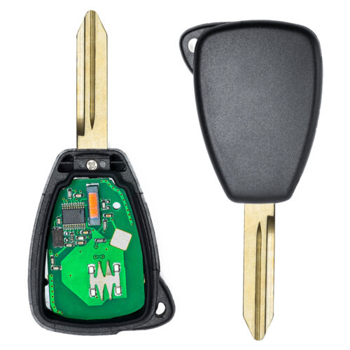 New Uncut Remote Key Fob 3 Button For 2006-2008 Dodge 1500