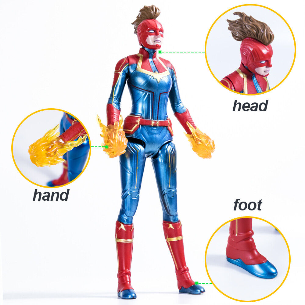 Captain Marvel Movie Cosmic Captain Marvel Super Hero Doll A
