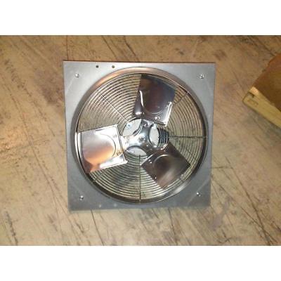 Dayton 10d957 22 X 22 115v Med Duty Direct Drive Exhaust Fan W18 Blade Dia.