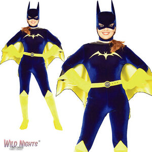 FANCY-DRESS-COSTUME-BATMAN-GOTHAM-GIRLS-BATGIRL-12-14