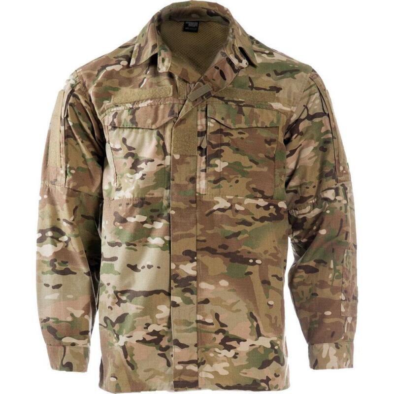 NEW Massif Field Shirt FR Flame-Resistant MULTICAM Uniform Combat Top AFSOC