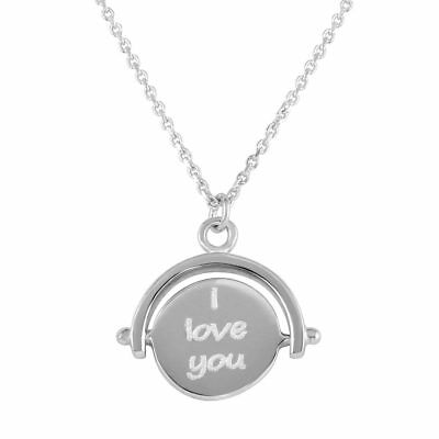 (Sterling Silver Necklace w/