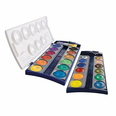 PELIKAN K24 Malkasten Deckfarbkasten Farbkasten 24 Farben + Deckweiß