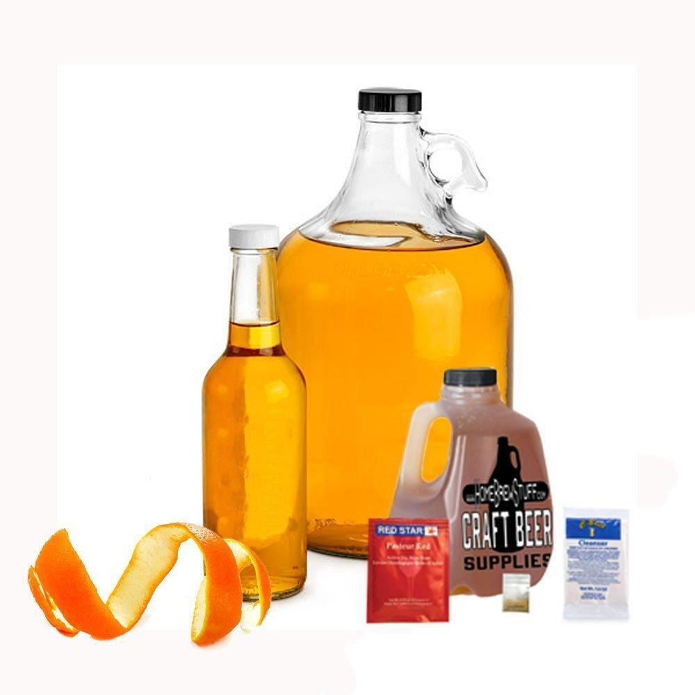 1 Gallon Orange & Honey Mead  Making Refill Kit Homebrew