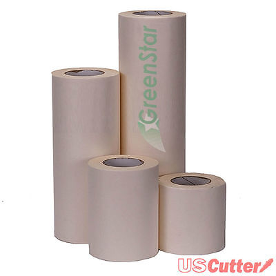 24 X 100yd Greenstar Application Transfer Tape Paper Medium Tack - Vinyl Signs