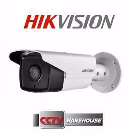 4MP UK HIKVISION Bullet POE IP CCTV Camera 80m Range EXIR DS-2CD2T42WD-I8 6MM