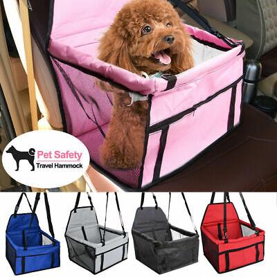 Pet Dog Car Seat Safe Booster Cat Puppy Travel Carrier Waterproof Bag Basket EOO