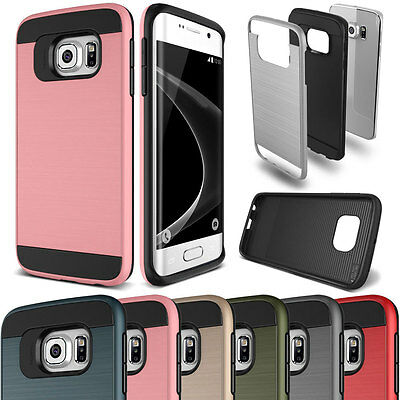 Shockproof Hybrid Gel Hard Back Armor Case Cover For Galaxy J1 J1ACE J2 J3 J5 J7