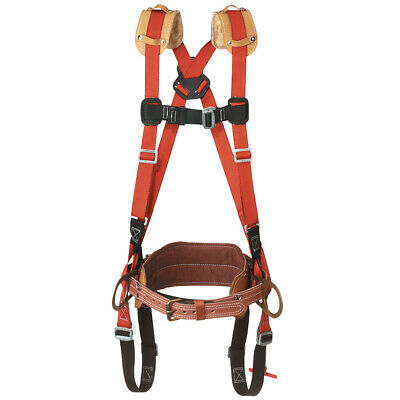 Klein Tools Lh5268-23-l Large Harness With Fixed Body Belt D-to-d Size 23
