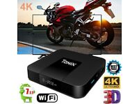 Tanix TX3 Mini TV Box Quad-core 4K H.265 2GB+16GB WiFi Android 7.1 2.4G EU Plug