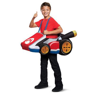 Child Mario Kart Costume size Standard 4-8 - Mariokart Costumes