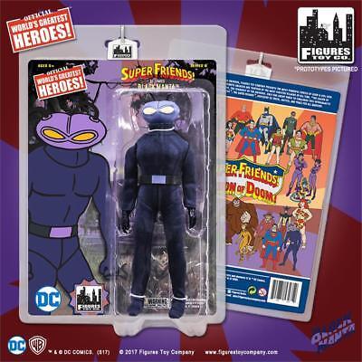 DC Super Friends Legion of Doom BLACK MANTA 8 inch retro styled figure NEW