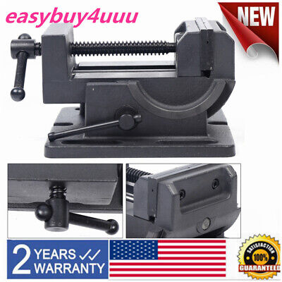 4 Inclined Bench Vise Drill Press Heavy Duty Clamp 90 Swivel Locking Base Vice