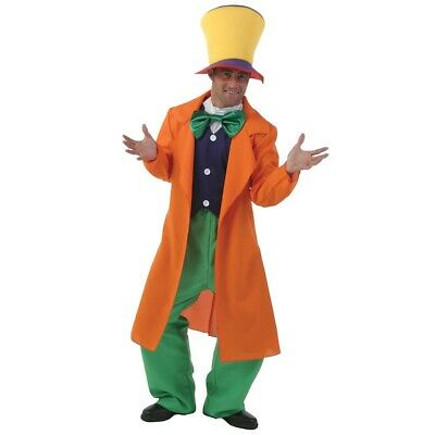 Alice In Wonderland Costume Mad Hatter Depp Johnny Cos Halloween Fantastic Suit
