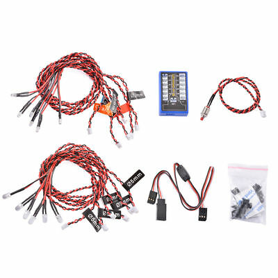12-LED Lichtsystem für RC Auto, Installation sehr einfach  EU/CE Version    G114