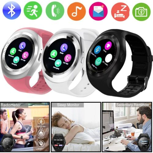 Y1 Waterproof Bluetooth Smart Watch Phone Mate For Android IOS iPhone Samsung LG Cell Phones & Accessories