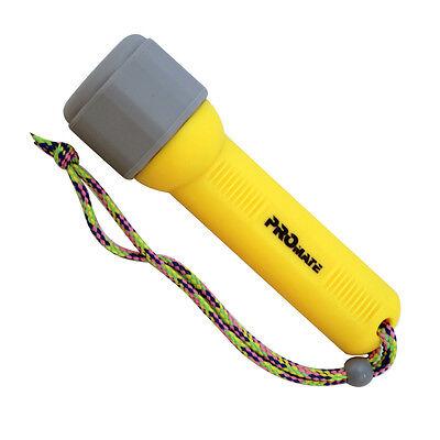 Scuba Dive Snorkeling Mini U-Beam 5 LED Light Torch Backup Flashlight -