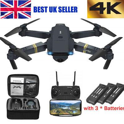 4K HD Drone X Pro 2.4G Aerial Camera WIFI FPV Foldable Mini Selfie RC Quadcopter