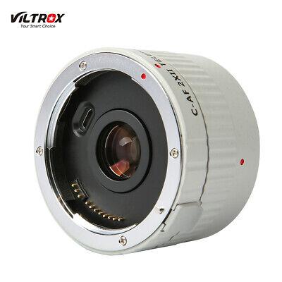 Viltrox C-AF 2XII Teleconverter Lens Extender Adapter for Canon EF Mount Lens 7D